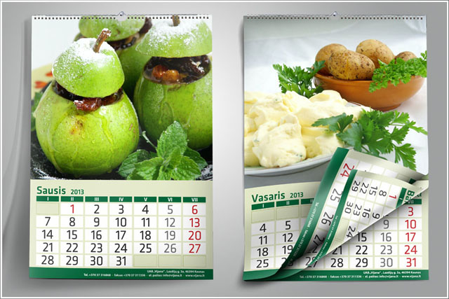 VIJANA maistinis kalendorius 2013 gamybai.cdr