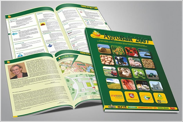 Katalogų spausdinimas parodoms