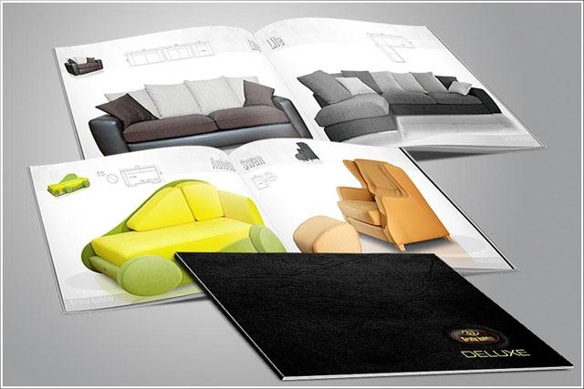 Katalogų spausdinimas reklamai