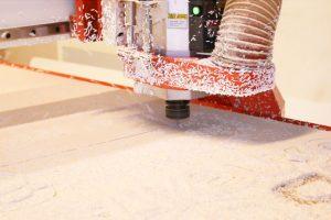 PVC frezavimas staklemis
