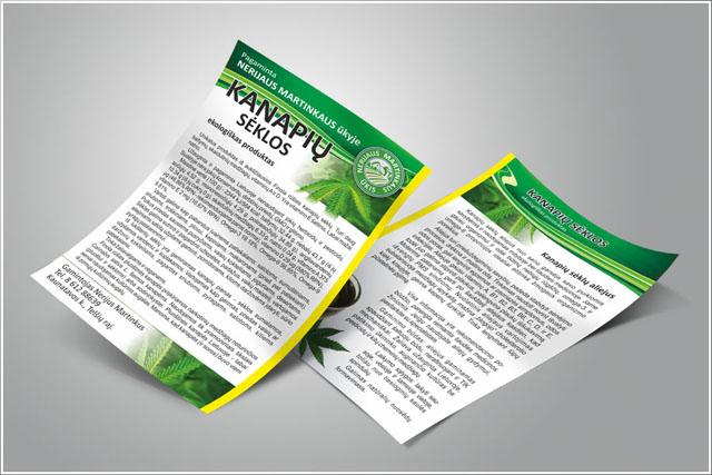 Skrajučių gamyba ir spausdinimas prezentacijoms
