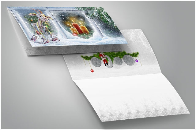 Kalėdiniai atvirukai LITAI